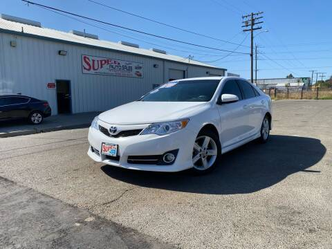 2013 Toyota Camry for sale at SUPER AUTO SALES STOCKTON in Stockton CA