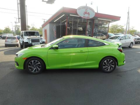 2016 Honda Civic for sale at The Carriage Company in Lancaster OH