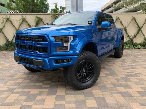 2020 Ford F-150 for sale at ROGERS MOTORCARS in Houston TX