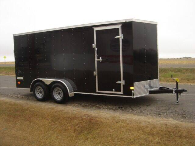 2021 HAULMARK 7 X 16 ENCLOSED  - Agra KS