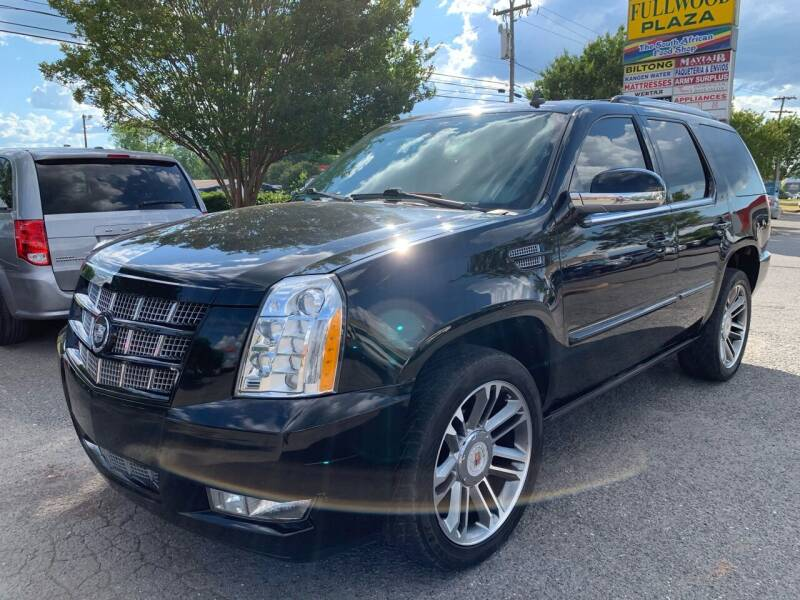 2012 Cadillac Escalade for sale at 5 Star Auto in Matthews NC
