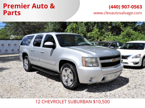 2012 Chevrolet Suburban for sale at Premier Auto & Parts in Elyria OH