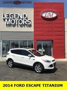 2014 Ford Escape for sale at Legend Motors of Ferndale in Ferndale MI