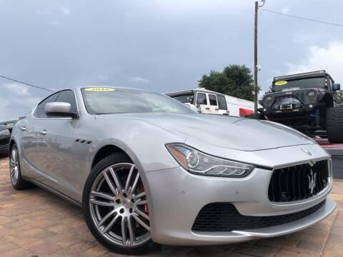 2016 Maserati Ghibli for sale at Cars of Tampa in Tampa FL