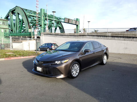 2019 Toyota Camry for sale at Imports Auto Sales & Service in San Leandro CA