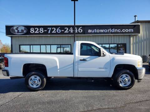 2012 Chevrolet Silverado 2500HD for sale at AutoWorld of Lenoir in Lenoir NC