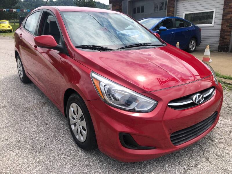 2016 Hyundai Accent for sale at Edens Auto Ranch in Bellaire OH