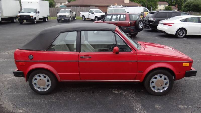 1987 Volkswagen Cabriolet for sale at Time To Buy Auto in Baltimore OH