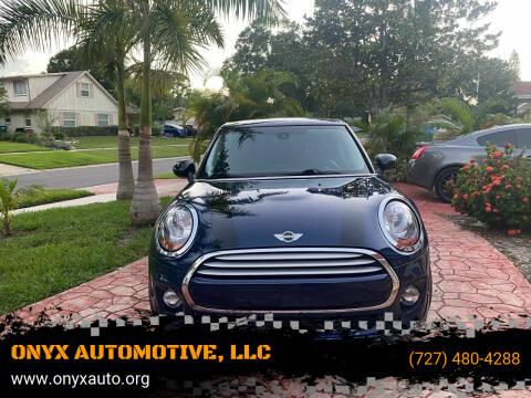 2015 MINI Hardtop 4 Door for sale at ONYX AUTOMOTIVE, LLC in Largo FL