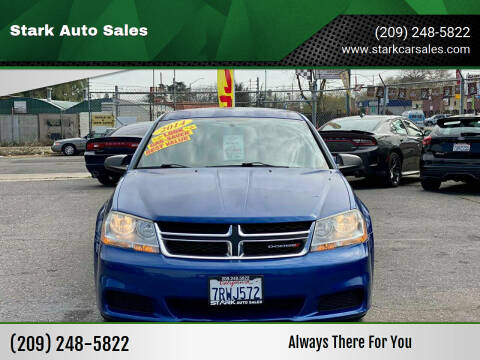 2014 Dodge Avenger for sale at Stark Auto Sales in Modesto CA