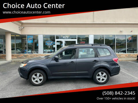 2012 Subaru Forester for sale at Choice Auto Center in Shrewsbury MA
