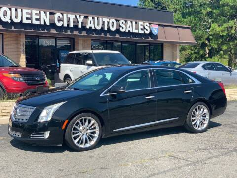 2013 Cadillac XTS for sale at Queen City Auto Sales in Charlotte NC