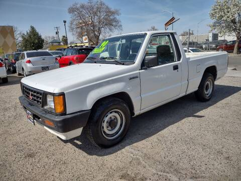 1990 Mitsubishi Mighty Max Pickup for sale at Larry's Auto Sales Inc. in Fresno CA