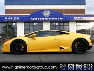 2017 Lamborghini Huracan for sale at Highline Group Motorsports in Lowell MA