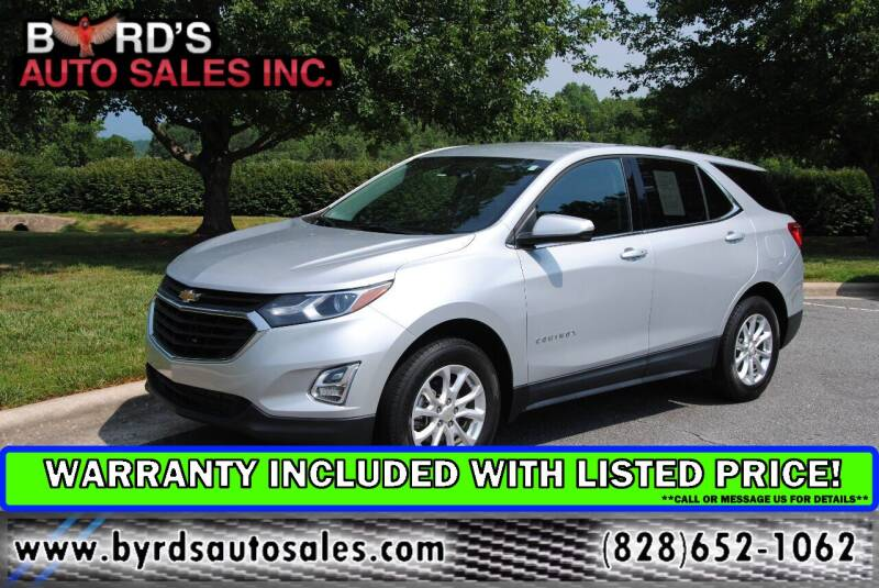 2018 Chevrolet Equinox for sale at Byrds Auto Sales in Marion NC