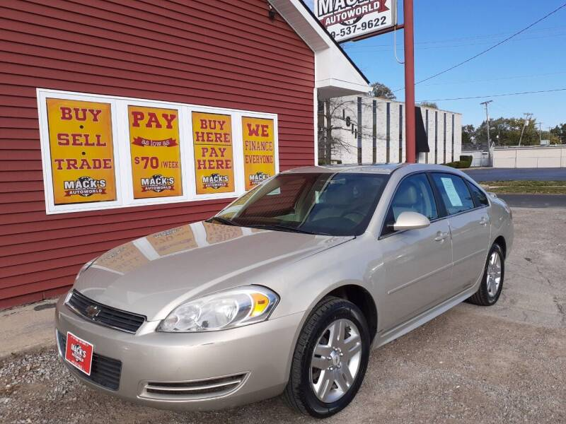 2011 Chevrolet Impala for sale at Mack's Autoworld in Toledo OH