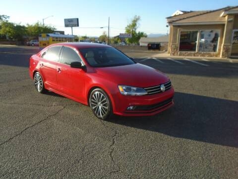2016 Volkswagen Jetta for sale at Team D Auto Sales in St George UT