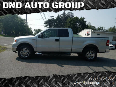 2007 Ford F-150 for sale at DND AUTO GROUP 2 in Asbury NJ