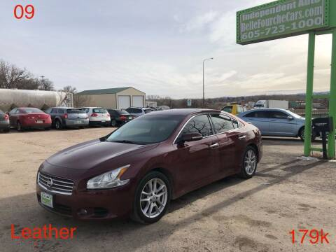 2009 Nissan Maxima for sale at Independent Auto in Belle Fourche SD