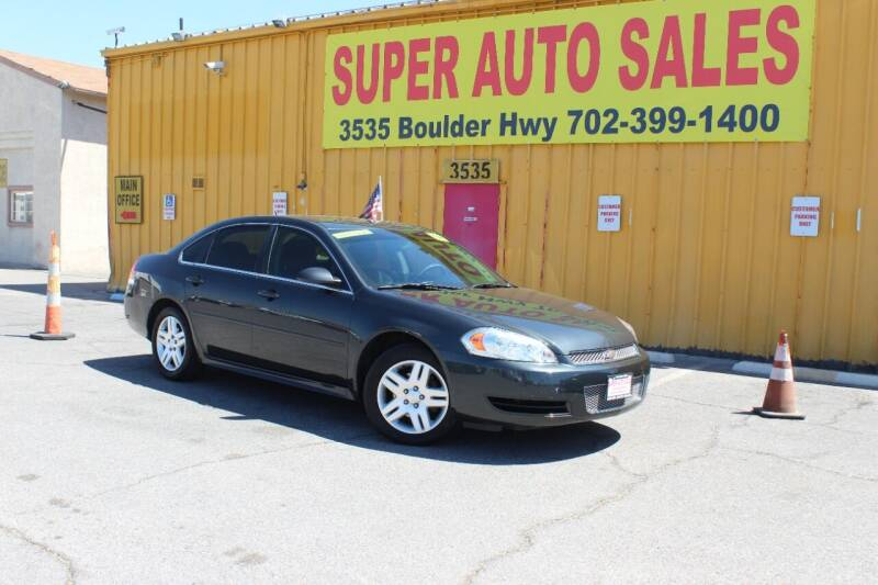 2014 Chevrolet Impala Limited for sale at Super Auto Sales in Las Vegas NV