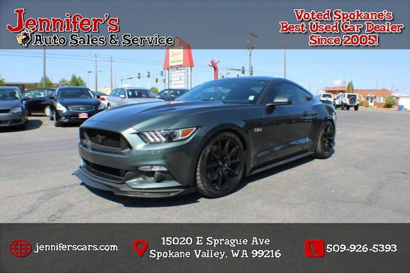 2016 Ford Mustang for sale at Jennifer's Auto Sales in Spokane Valley WA