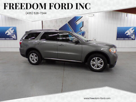 2012 Dodge Durango for sale at Freedom Ford Inc in Gunnison UT
