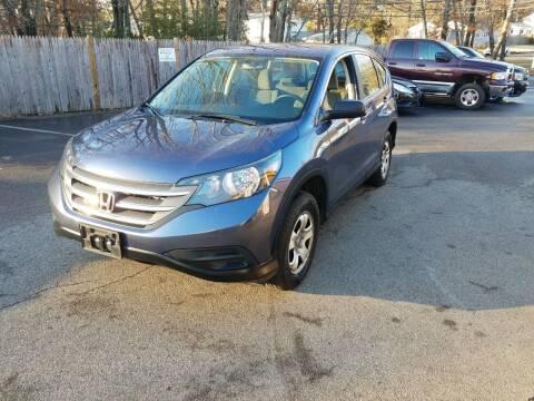 2012 Honda CR-V for sale at Suburban Auto Technicians LLC in Walpole MA