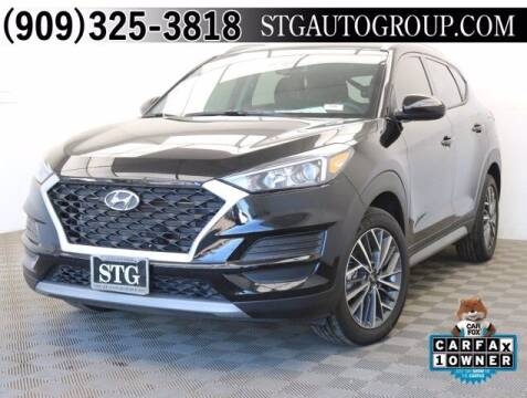 2019 Hyundai Tucson for sale at STG Auto Group in Montclair CA