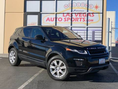 2019 Land Rover Range Rover Evoque for sale at Las Vegas Auto Sports in Las Vegas NV
