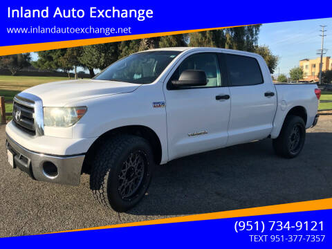 2010 Toyota Tundra for sale at Inland Auto Exchange in Norco CA