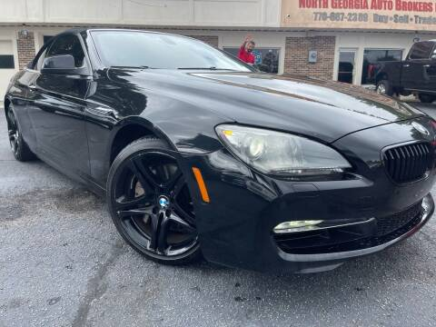 2012 BMW 6 Series for sale at North Georgia Auto Brokers in Snellville GA