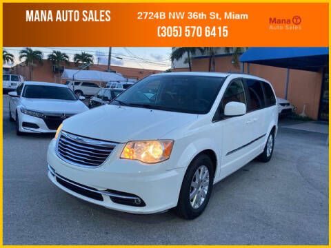 2013 Chrysler Town and Country for sale at MANA AUTO SALES in Miami FL