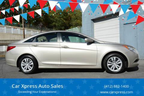 2011 Hyundai Sonata for sale at Car Xpress Auto Sales in Pittsburgh PA