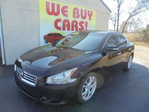 2014 Nissan Maxima for sale at Right Price Auto Sales in Murfreesboro TN