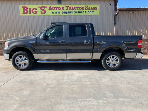 2007 Ford F-150 for sale at BIG 'S' AUTO & TRACTOR SALES in Blanchard OK