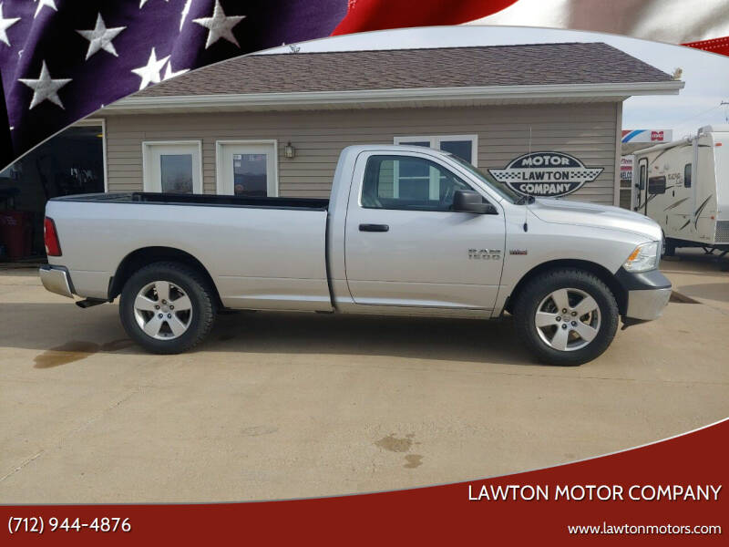 2017 RAM Ram Pickup 1500 for sale at Lawton Motor Company in Lawton IA
