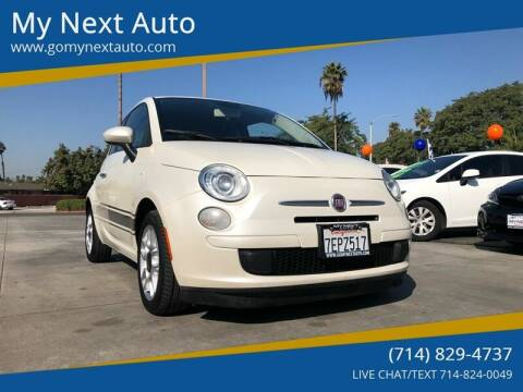 2013 FIAT 500 for sale at My Next Auto in Anaheim CA