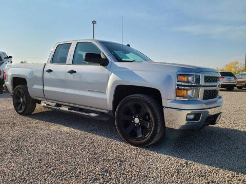 2014 Chevrolet Silverado 1500 for sale at BERKENKOTTER MOTORS in Brighton CO
