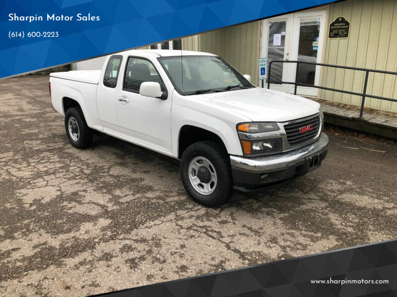 2012 GMC Canyon for sale at Sharpin Motor Sales in Columbus OH