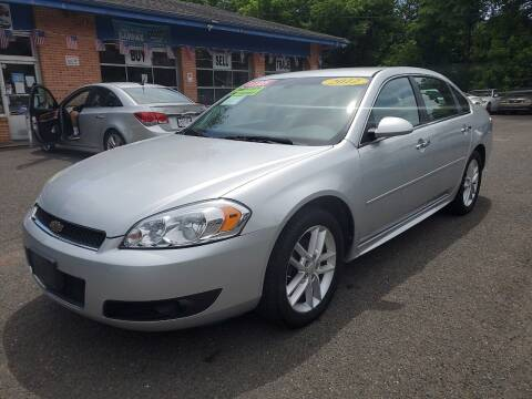2012 Chevrolet Impala for sale at Super Auto Group in Somerville NJ