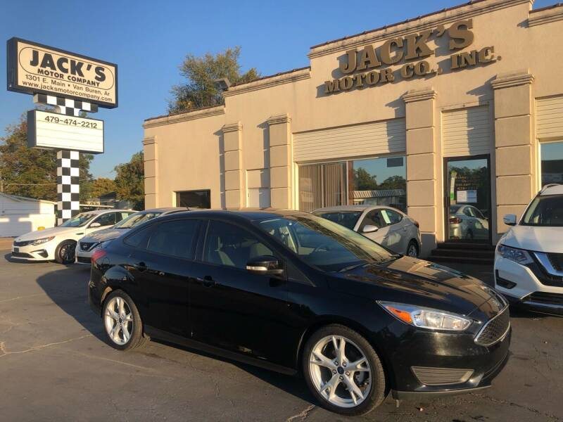 2016 Ford Focus for sale at JACK'S MOTOR COMPANY in Van Buren AR