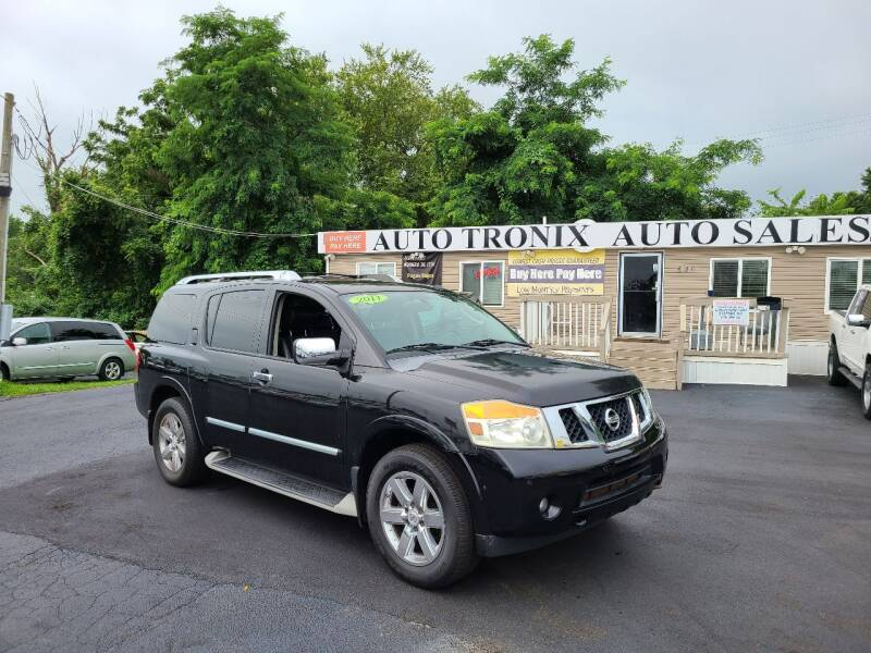 2011 Nissan Armada for sale at Auto Tronix in Lexington KY