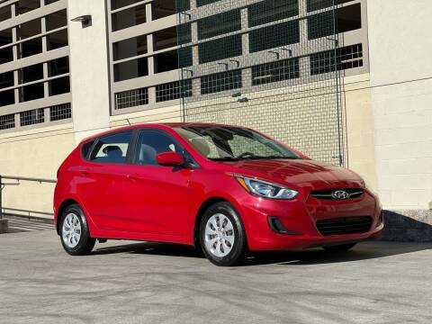 2013 Hyundai Accent for sale at LANCASTER AUTO GROUP in Portland OR