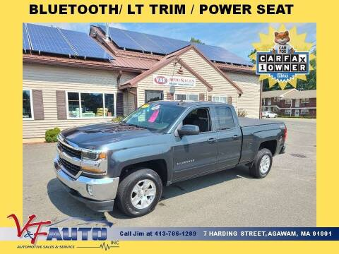 2017 Chevrolet Silverado 1500 for sale at V & F Auto Sales in Agawam MA