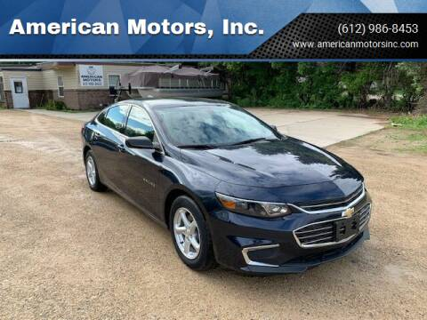 2016 Chevrolet Malibu for sale at American Motors, Inc. in Farmington MN