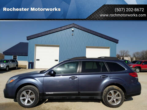 2014 Subaru Outback for sale at Rochester Motorworks in Rochester MN