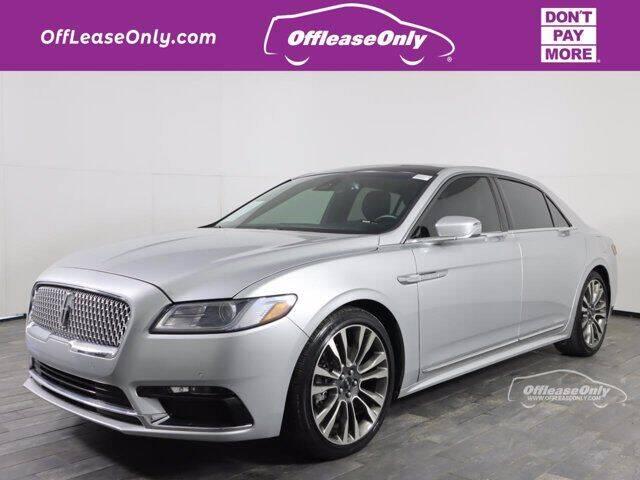 2017 Lincoln Continental for sale in Miami, FL