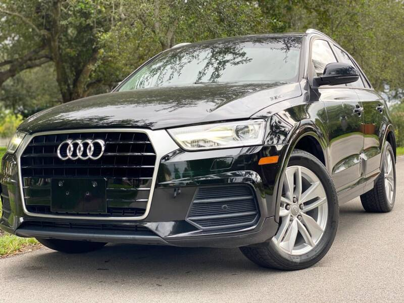2017 Audi Q3 for sale at HIGH PERFORMANCE MOTORS in Hollywood FL
