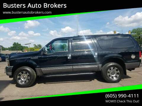 2004 Ford Excursion for sale at Busters Auto Brokers in Mitchell SD