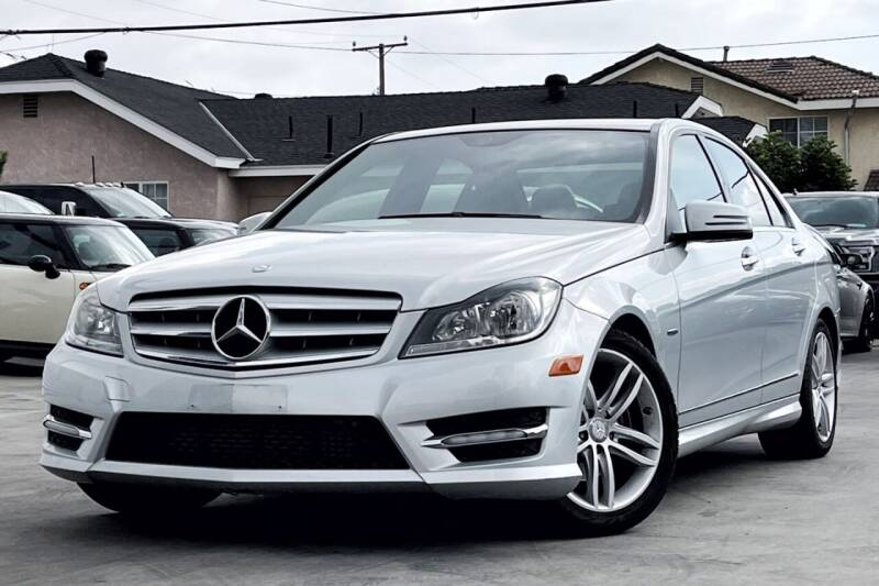 2012 Mercedes-Benz C-Class for sale at Fastrack Auto Inc in Rosemead CA